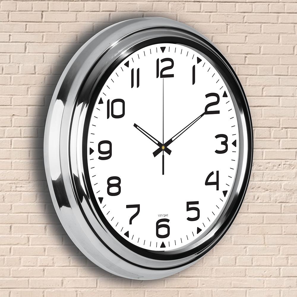 Metallized Wall Clocks