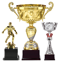 Cups and plaques